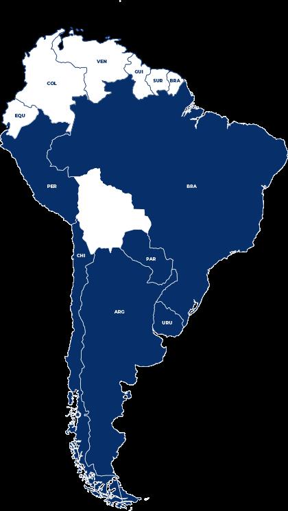 Área de Atuação Transilva Uma das Maiores Transportadoras do Brasil